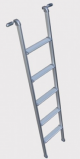 ALUMINIUM BUNK LADDER 1500 X 280