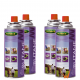 4 x Butane Gas Canisters