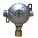 30mbar Caravan Gas Regulator 8mm - Side Inlet