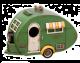 Vintage 1930s Caravan Birdhouse
