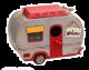 Vintage 1950s Caravan Birdhouse